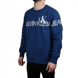 Calvin Klein Sudadera Outline Logo Naval Blue Azul Hombre