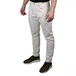 Pepe Jeans Pantalón CALLEN CROP ECRU Blanco Roto Hombre