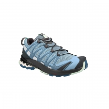 Salomon Zapatilla XA Pro 3D V8 W Ashley Blue Ebony Opal Blue Azul celeste blanco gris Mujer
