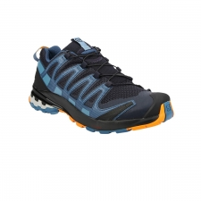 Salomon Zapatilla XA Pro 3D V8 Night Sky Dark Denim Butterscotch Azul Oscuro Hombre