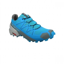 Salomon Zapatilla Speedcross 5 Hawaiian Ocean Stormy Weather Quarry Azul Hombre