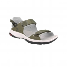 Salomon Sandalia Tech Sandal Feel Grape Leaf Trellis Quarry Verde Oliva Hombre