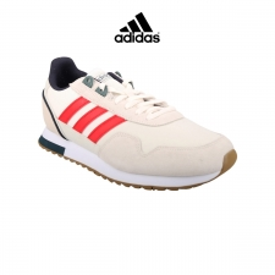Adidas Zapatilla 8K 2020 Beige Rojo Marino Hombre