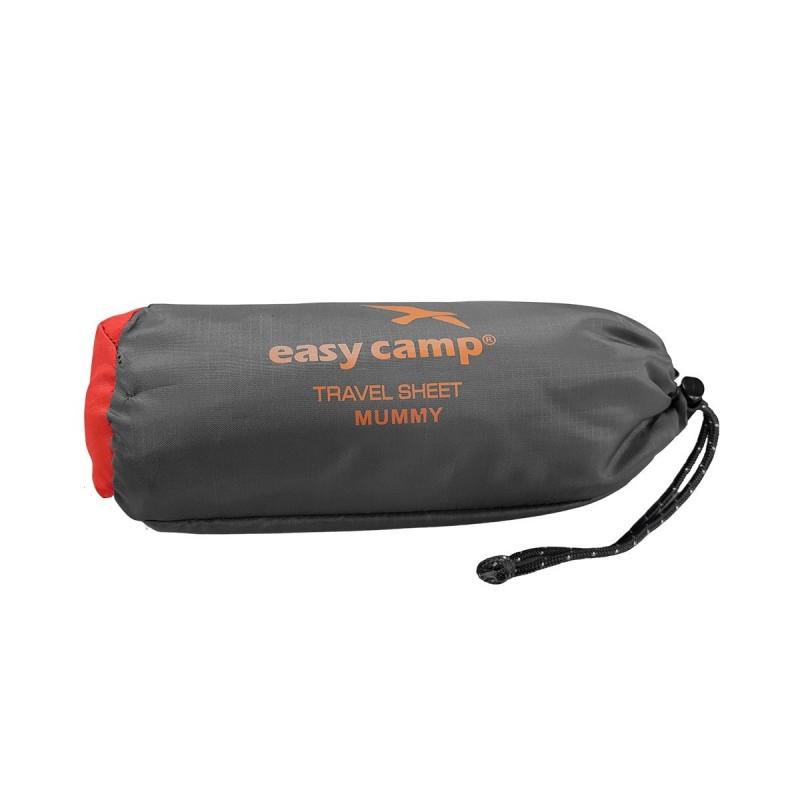 Easy Camp Saco sábana Travel Sheet Rectangle Gris