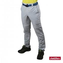+8000 Pantalón Desmontable Libano 21V Humo Gris Claro Azul Hombre
