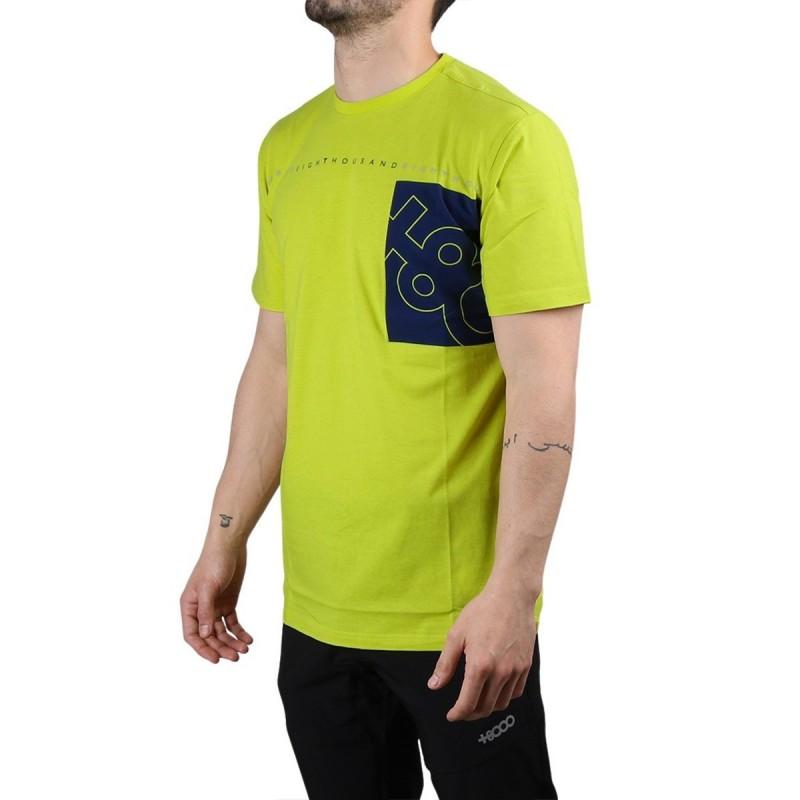 +8000 Camiseta Domac 20V Verde Ácido Hombre