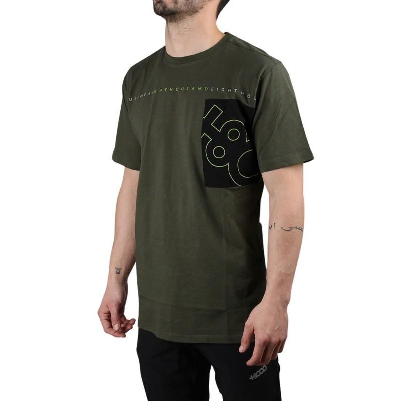 +8000 Camiseta Domac 20V Verde Bosque Hombre