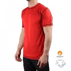 Trangoworld Camiseta Vagak Rojo Hombre