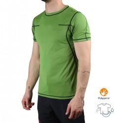 Trangoworld Camiseta Vagak Verde Hombre