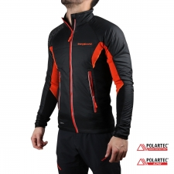 Trangoworld chaqueta Ynez Impulse Negro naranja Hombre