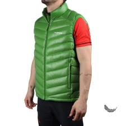 Trangoworld chaleco Plumas Munk Verde Hombre