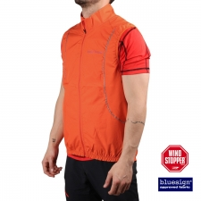 Trangoworld chaleco Windstopper Ghent Naranja Hombre