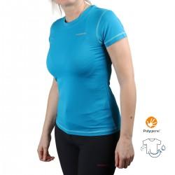 Trangoworld Camiseta Kami Azul Menta Mujer