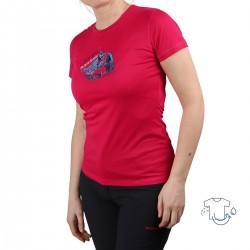 Trangoworld Camiseta Sadali Rosa Escalada Mujer
