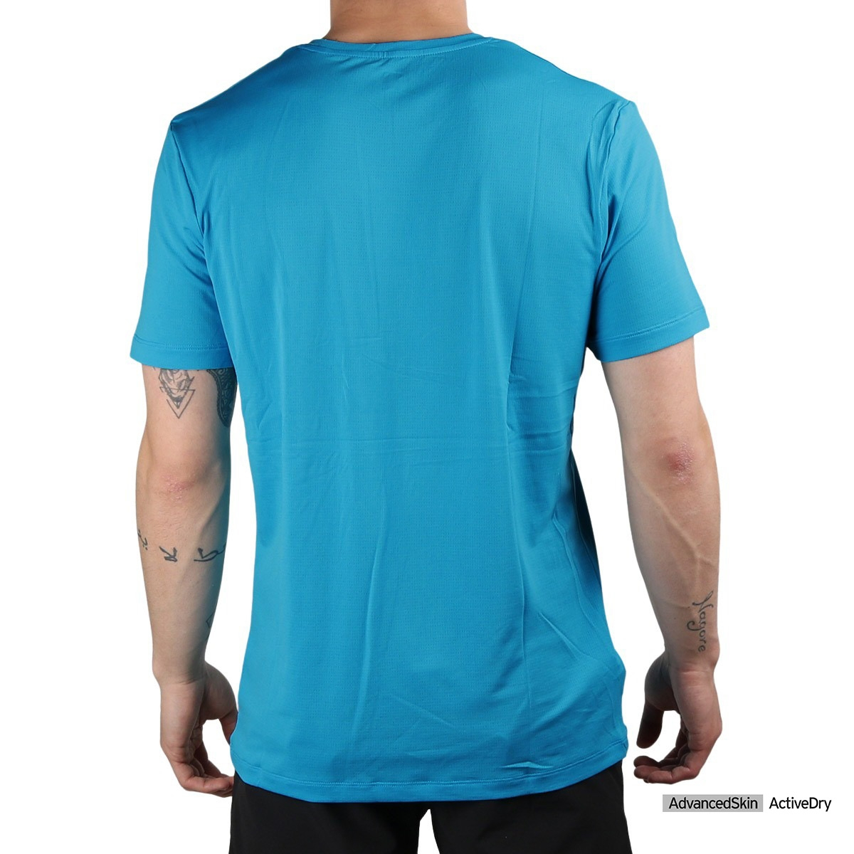 Salomon camiseta AGILE TRAINING Hawaiian Ocean Azul Hombre