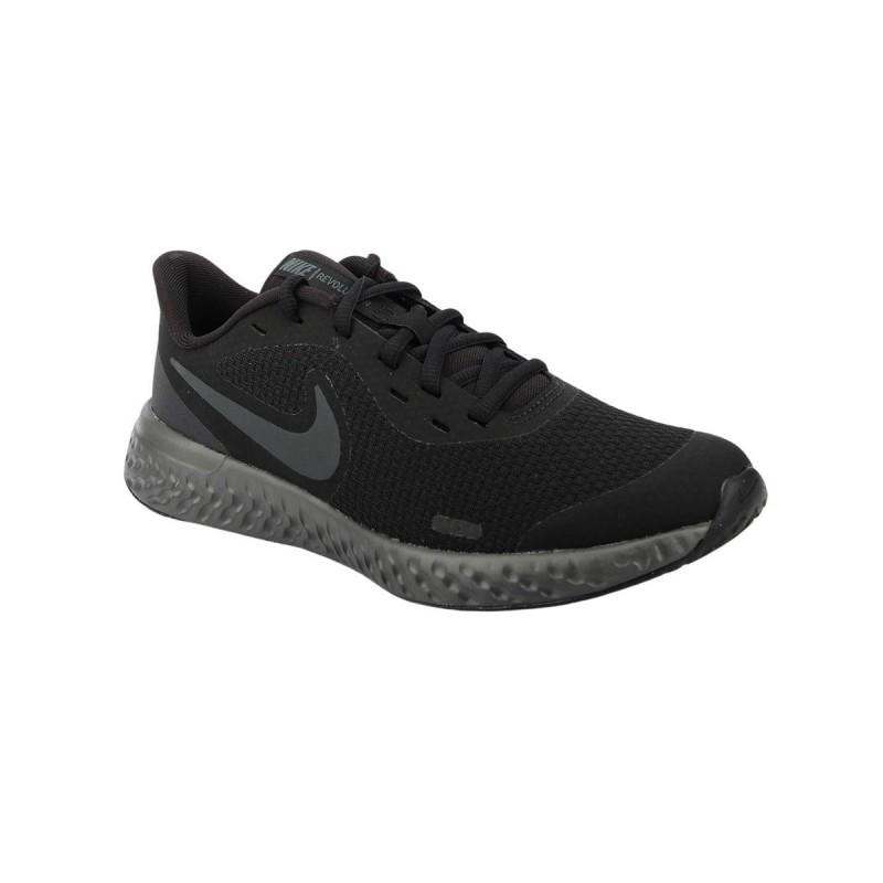 Nike Revolution 5 Black Anthracite Negro Hombre