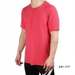 Nike Camiseta YOGA DRI-FIT Rosa Hombre