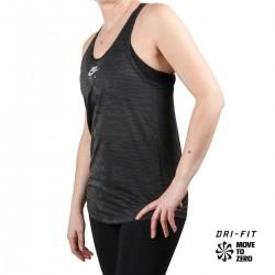 Nike Camiseta Tirantes Nike AIR Dark Smoke Grey Gris TMujer