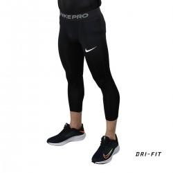 Nike Mallas 3/4 Nike Pro Black Negro Hombre