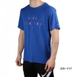 Nike Camiseta Dri-FIT Miler Run Division Game Royal Azul Hombre