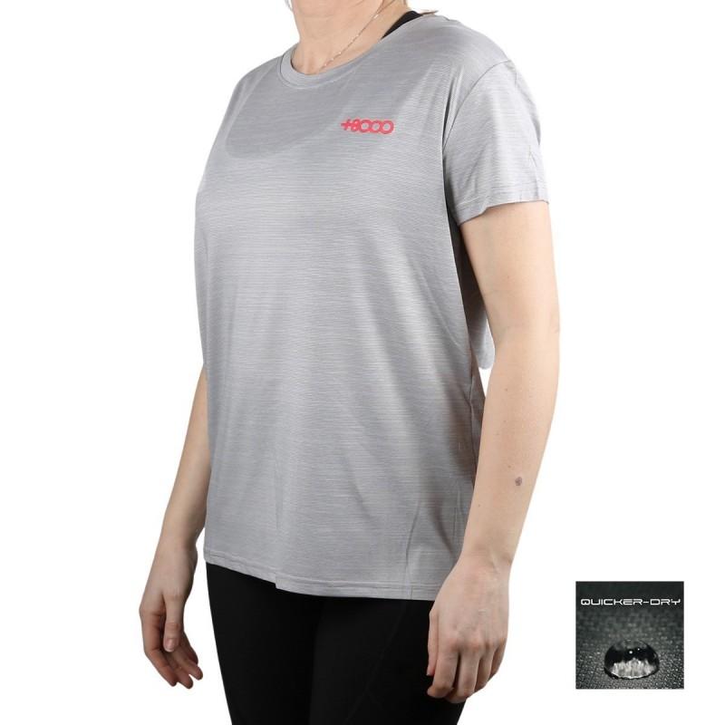 +8000 Camiseta STAX 21V Hueso Tej. Bicolor Mujer