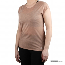 Salomon Camiseta COMET SHAPED Sirocco Heather Tierra Jaspeado Mujer