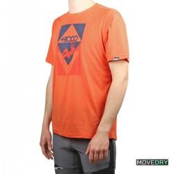 +8000 Camiseta BLOCAR 21V Naranja Vigore Hombre