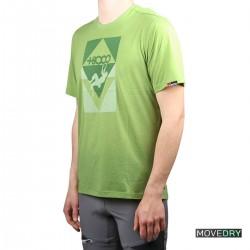 +8000 Camiseta BLOCAR 21V Verde Vigore Hombre