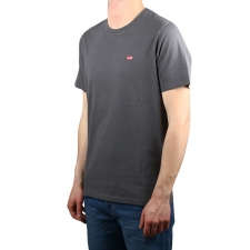Levis Camiseta Original Housemark Tee Mini Logo Mineral gris Hombre