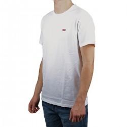 Levis Camiseta Original Housemark Tee Mini Logo White Blanco Hombre