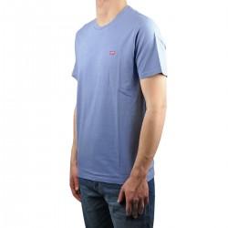 Levis Camiseta Original Housemark Tee Mini Logo Colony Blue Azul Hombre