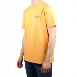 Levis Camiseta Relaxed Fit Tee New Logo II Engomado Kumquat Amarillo Anaranjado Hombre