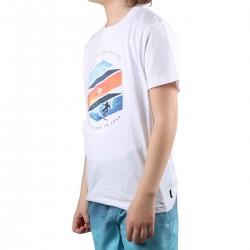 Rip Curl Camiseta ACTION SHOT White Blanco Niño