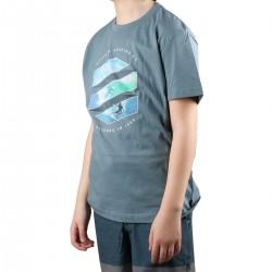 Rip Curl Camiseta ACTION SHOT Mid Blue Azul Niño