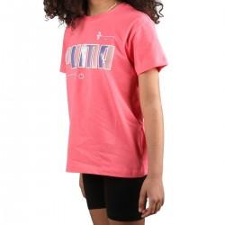 Puma Camiseta Alpha Tee Sun Kissed Rosa Niño