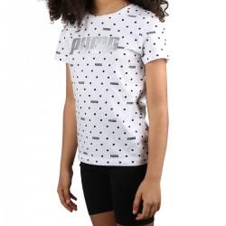 Puma Camiseta Graphic AOP Tee Lunares Niño