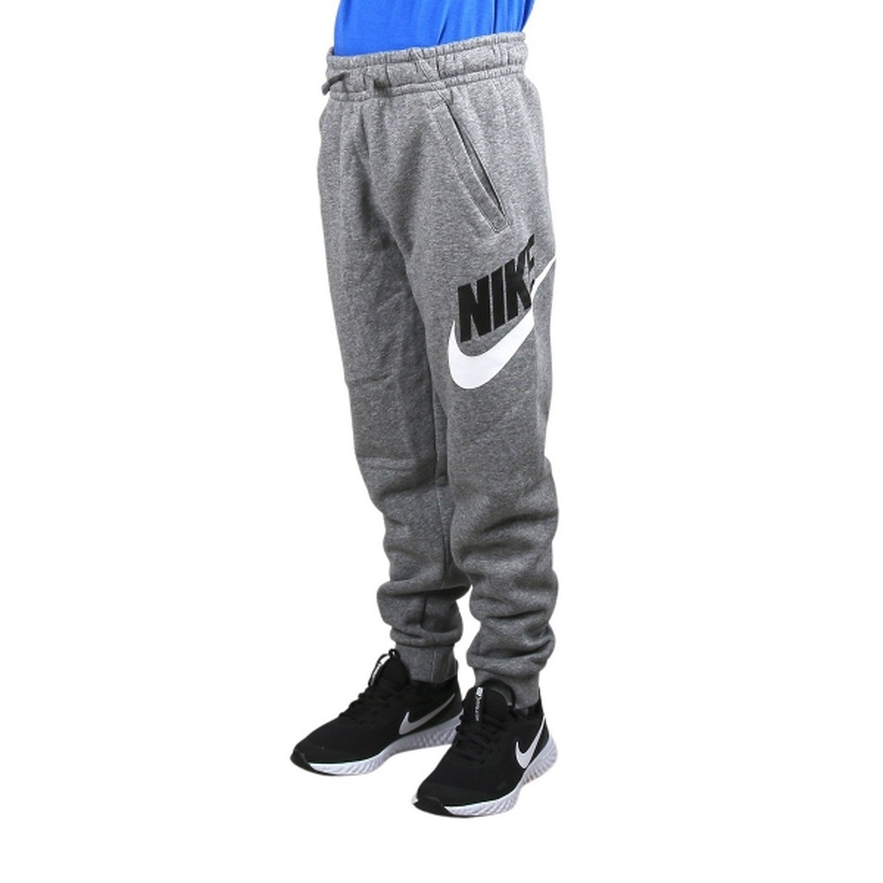 Nike Pantalón de chándal Sportswear Club Fleece Carbon Heather Smoke Grey Gris Niño