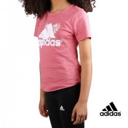 ADIDAS Camiseta TROPICAL Sports Graphic Hazy Rose Rosa Niño
