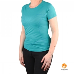 Trangoworld Camiseta COTIELLA Verde Virdiana Mujer