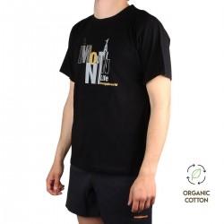 Trangoworld Camiseta CORBIER Negro Hombre