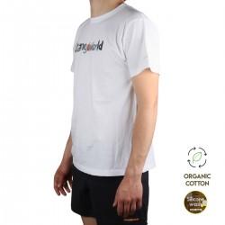 Trangoworld Camiseta WATERCOLOUR Blanco Hombre