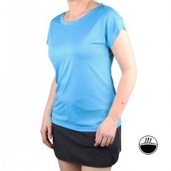 IcePeak Camiseta DEVINE Aqua Azul Claro Mujer
