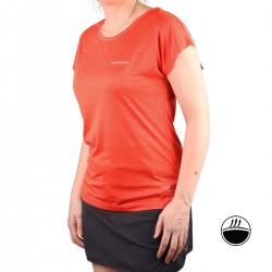 Ice Peak Camiseta DEVINE Coral Naranja Mujer