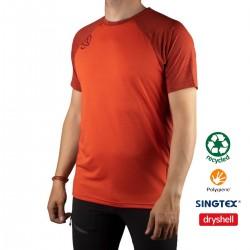 Ternua Camiseta KRIN C-Orange Naranja Hombre