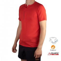 Trangoworld Camiseta NUENO Rojo Hombre