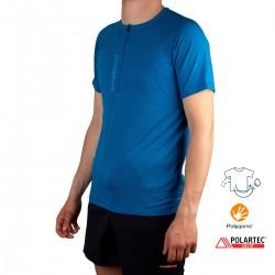 Trangoworld Camiseta NUENO Azul Oscuro Azul Cielo Hombre