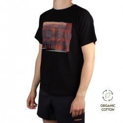 Trangoworld Camiseta ONWALL 1R0 Negro Hombre