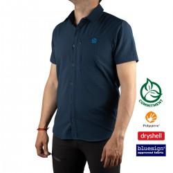 Ternua Camisa HINGAR A-Blue Wing Teal Azul Hombre