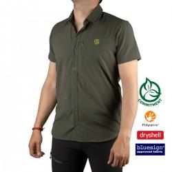 Ternua Camisa HINGAR C-Deep Forest Verde Hombre