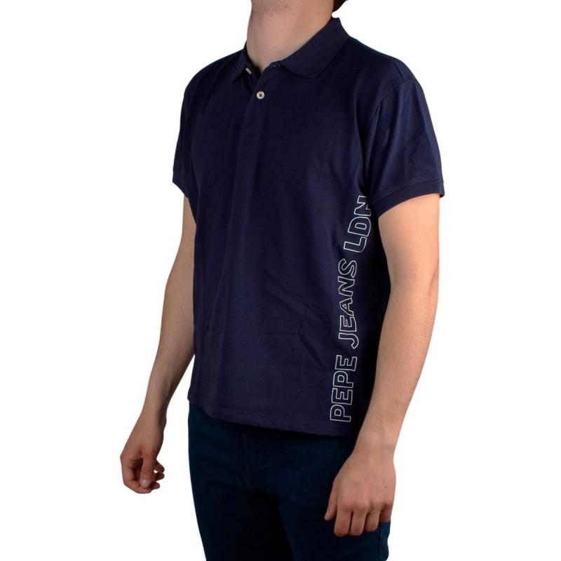 Pepe Jeans Polo BENSON Thames Azul Marino Logo Hombre